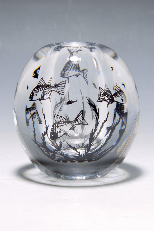 vase 'Graal', Edward Hald for Orrefors, around1980
