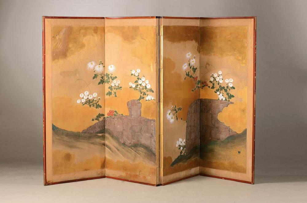 screen, Japan around 1900/1910, inspired of