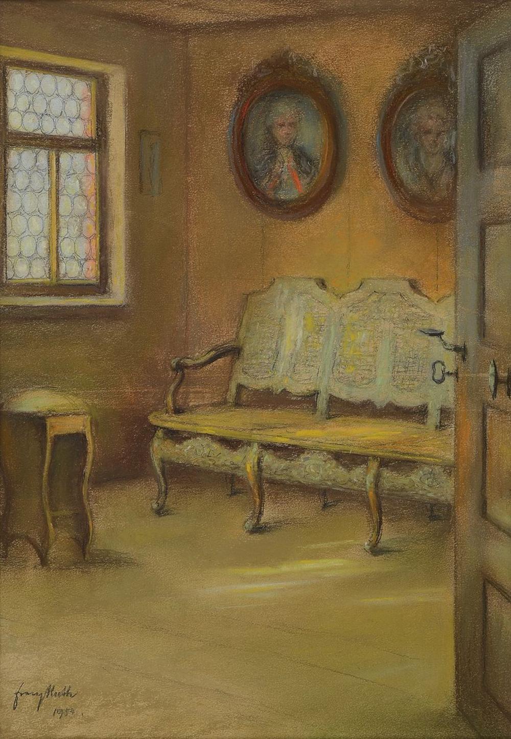 Franz Huth, 1876 Pößneck-1970 Weimar, Interieur