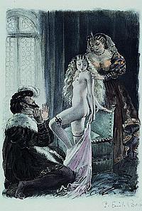 Becat, Paul Emile, 1885-1960, drei kolor. Lithos