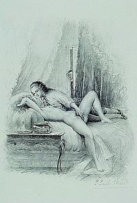 Becat, Paul Emile, 1885-1960, vier Farbpochoirs