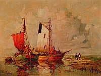 Priebe, Rudolf, geb. 1889 Schulakowo, Fischer am