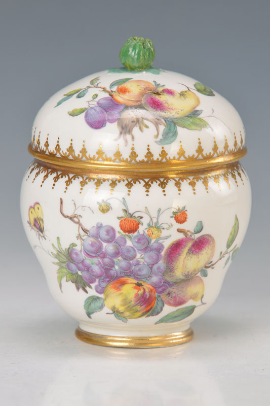 lidded box, Frankenthal