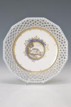 pastry plate, Nymphenburg