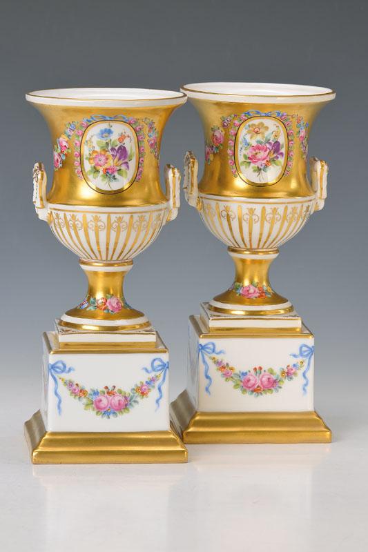 Pair of vases, german