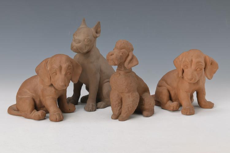 4 animal figures