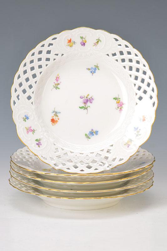 5 small plates