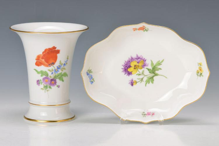 vase and bowl, Meissen