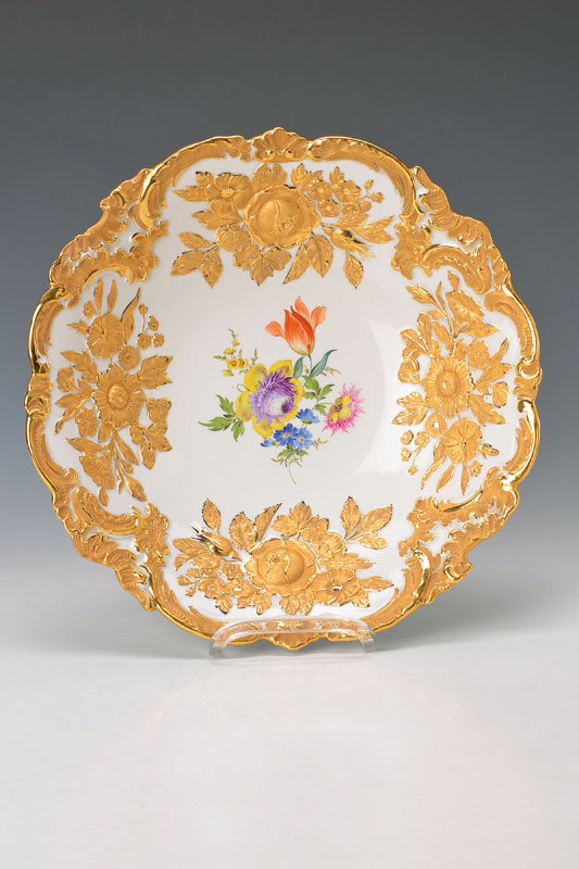 pompous bowl, Meissen