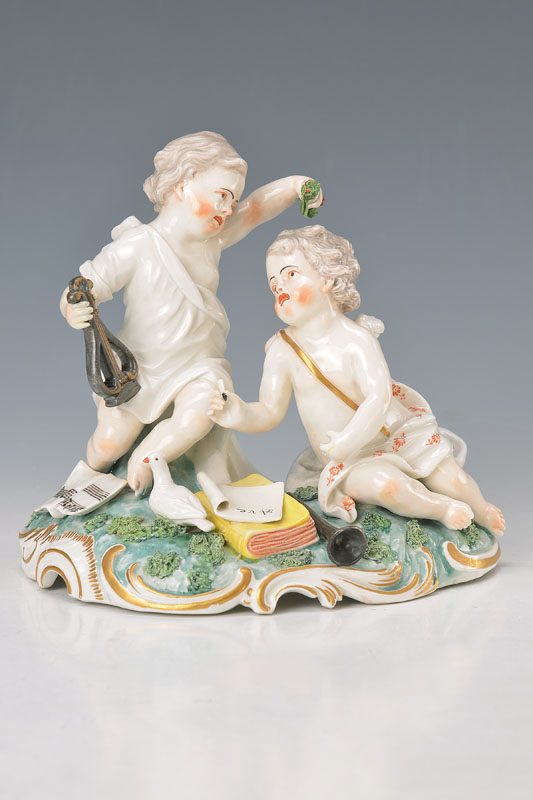 porcelain group, Frankenthal