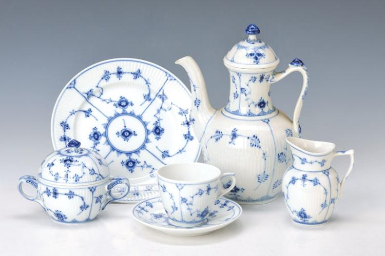 coffee set, Royal Kopenhagen