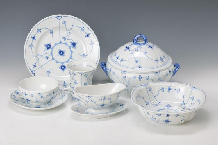 dinner set, Royal Copenhagen