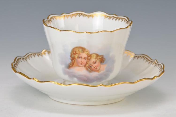 Souvenir cup, Meissen