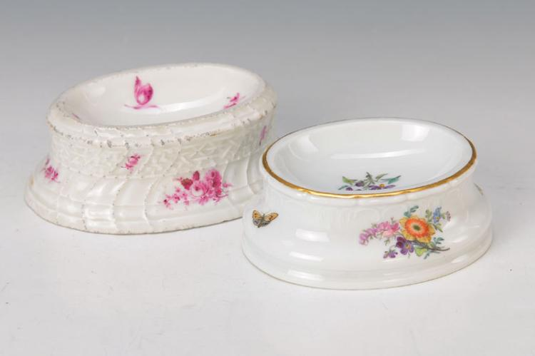 two salt bowls
