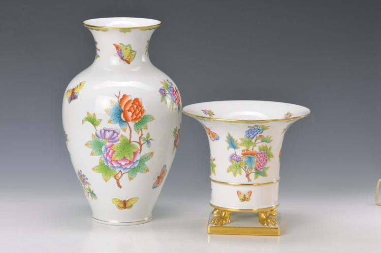two vases, Herend