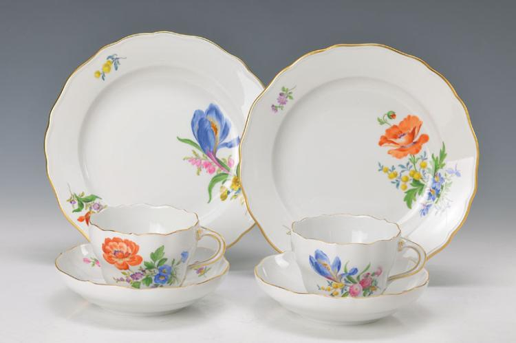 two coffee sets