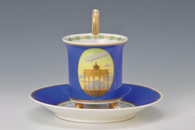cup with saucer, KPM