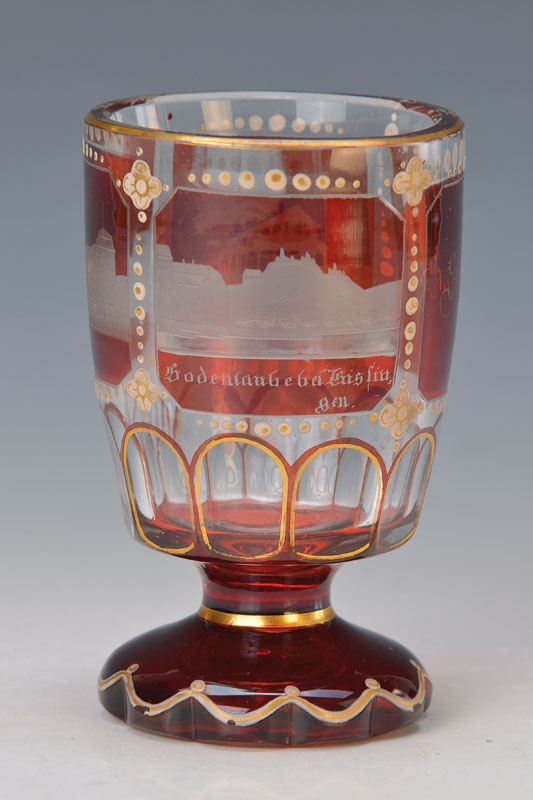 keepsake glass 'Bad Kissingen'