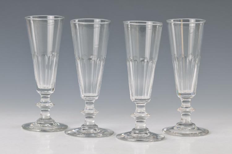 6 champagner glasses