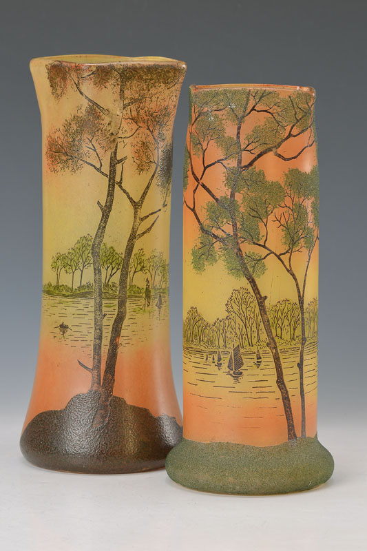 two vases, Legras