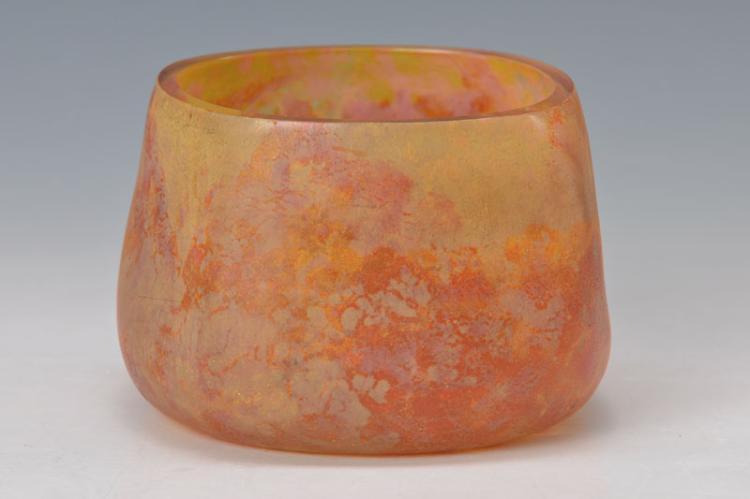 bowl/vessel, Daum Nancy