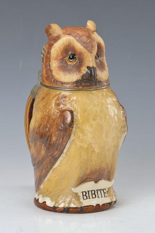 Figure jar owl