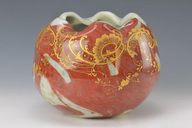 Large ball vase