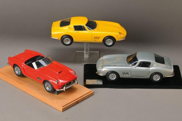 7 Ferrari Model cars