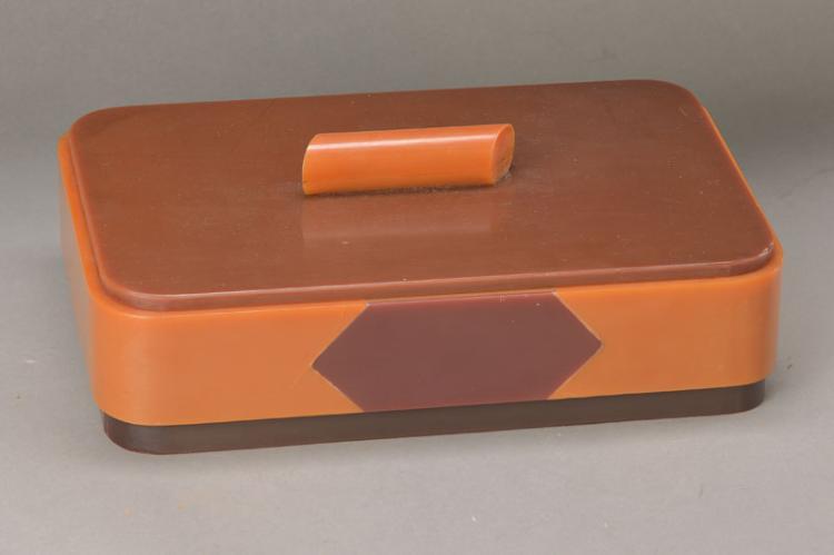 lidded box, german