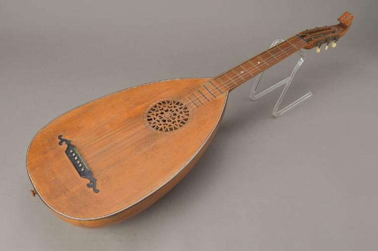 lute, probably german