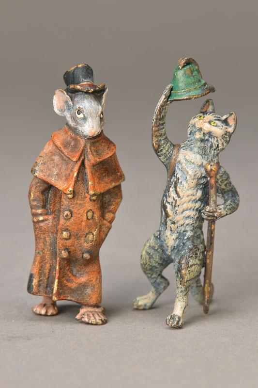 two Vienna Bronzes