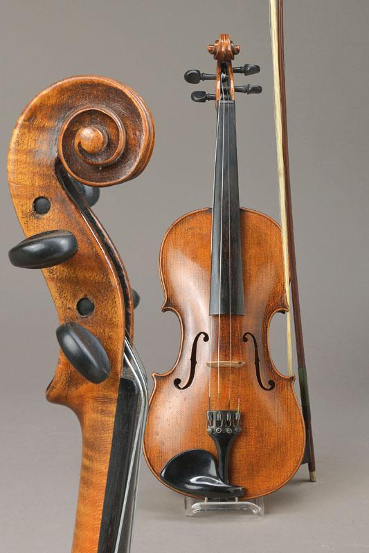 violin, Markneukirchen