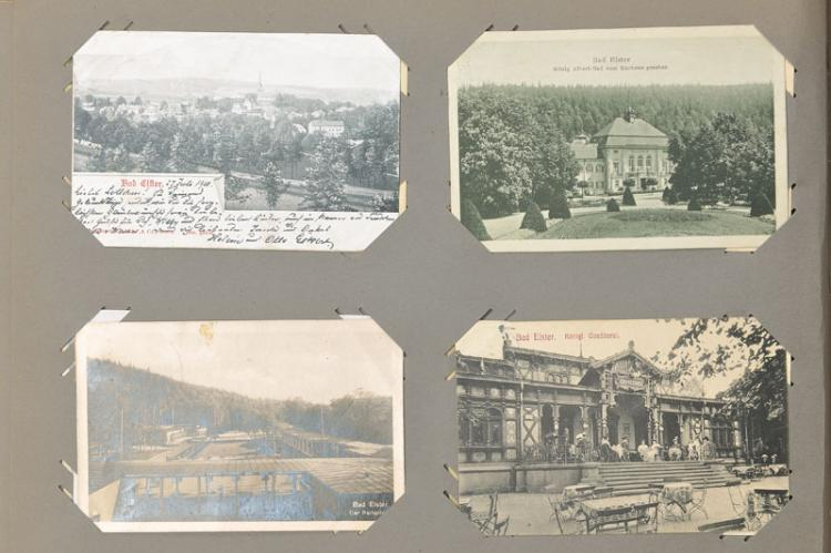 Lot postcards