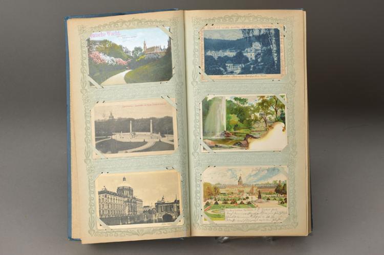 384 postcards