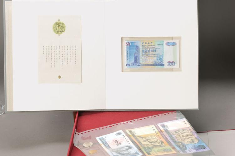 collection of banknotes