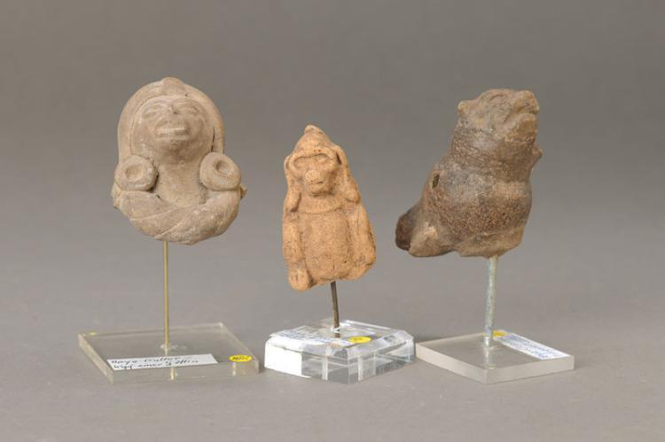 three idols, Mayan culture