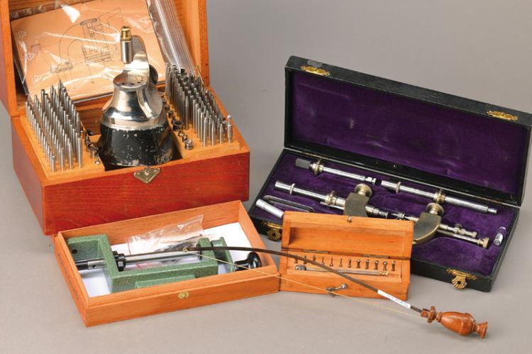 clockmaker's tools