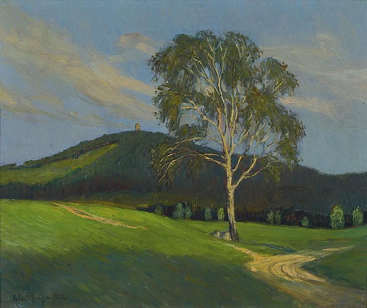 Werner von Pigage, 1888 Breslau-1959 Munich