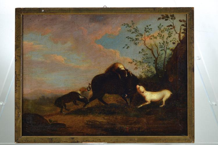 Hunting painter of 18th C.