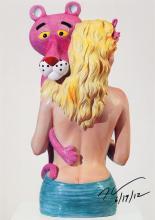 Jeff Koons, born 1955, # 'Pink Panther #', artprint on