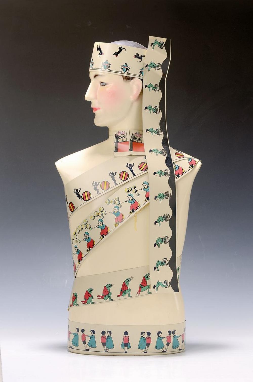 Salvador Dali, 1904-1989, # 'Mannequin zoo tropique #'