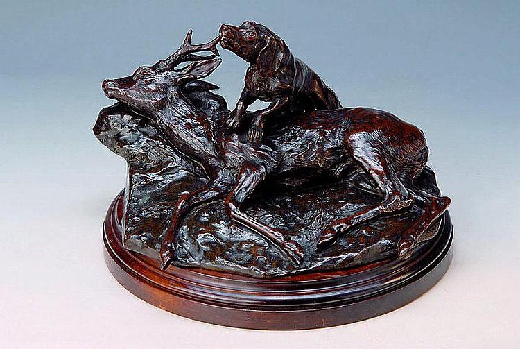 Buscher, Clemens, 1855 Gamburg-1916, Bildhauer und