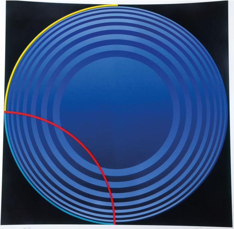 Friedrich Geiler, born in 1946, giclee on handmade