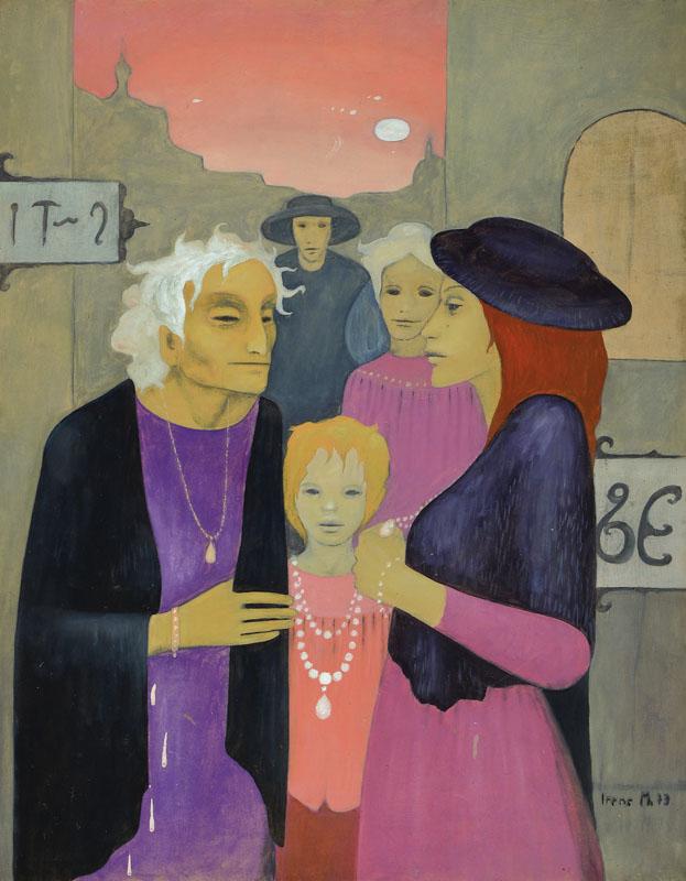 Irene Müller, born 1941 Bielefeld, works in Bielefeld