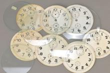 Wholesale watchglasses + alarmclockdials