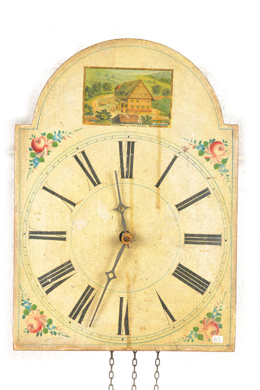broke-arch clock
