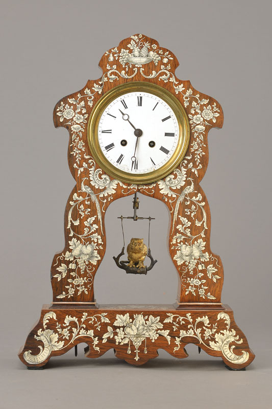rare table clock
