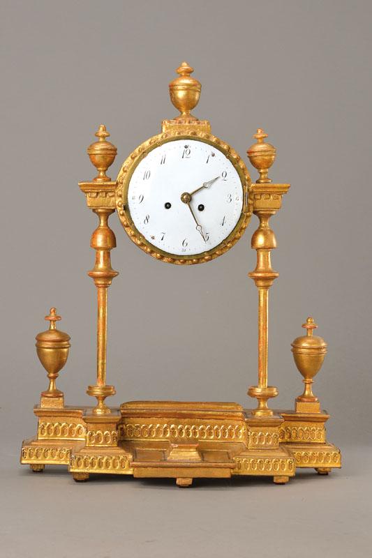Portico clock,