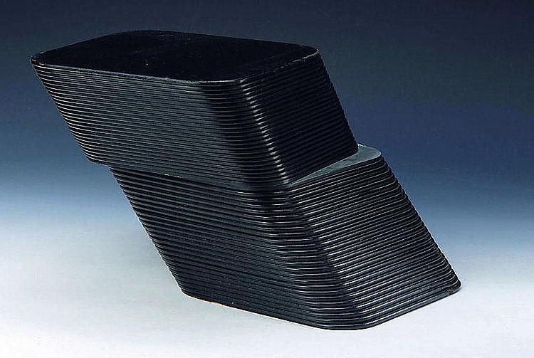 Lenk, Thomas, geb. 1933, Schichtung, Skulptur,