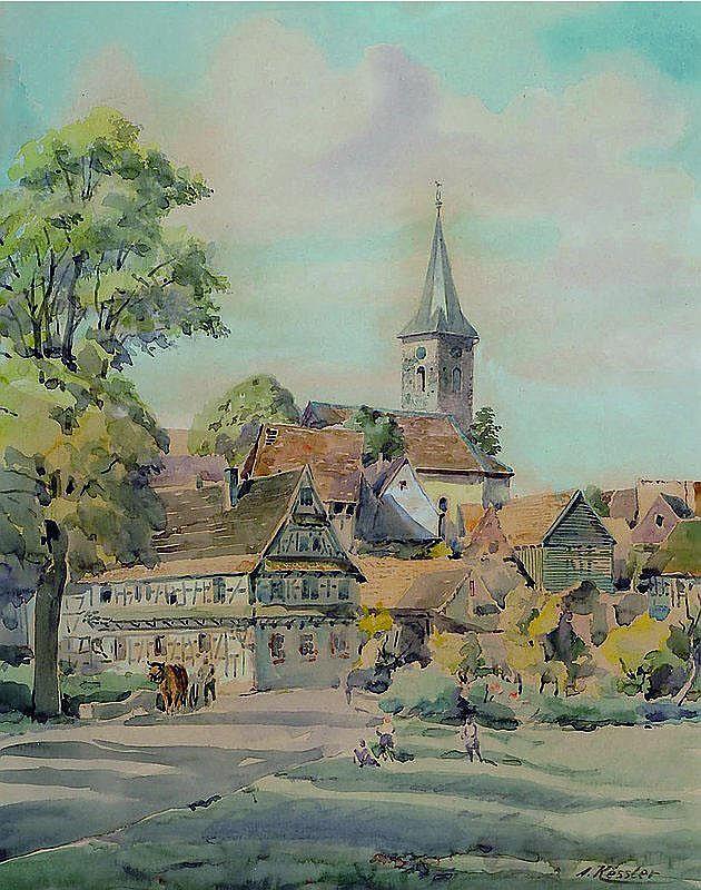 Kessler, Adolf, 1890 Godramstein - 1984,